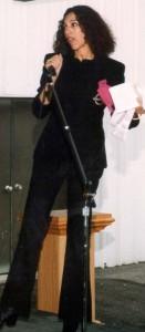 Speaking at event